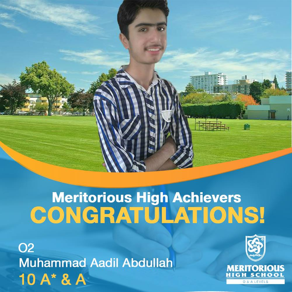 Meritorious High Achievers