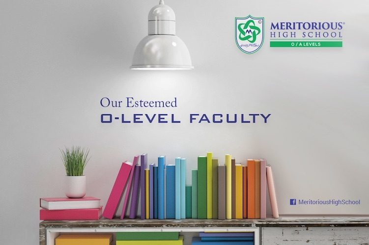 Meritorious Cambridge O-Level Faculty