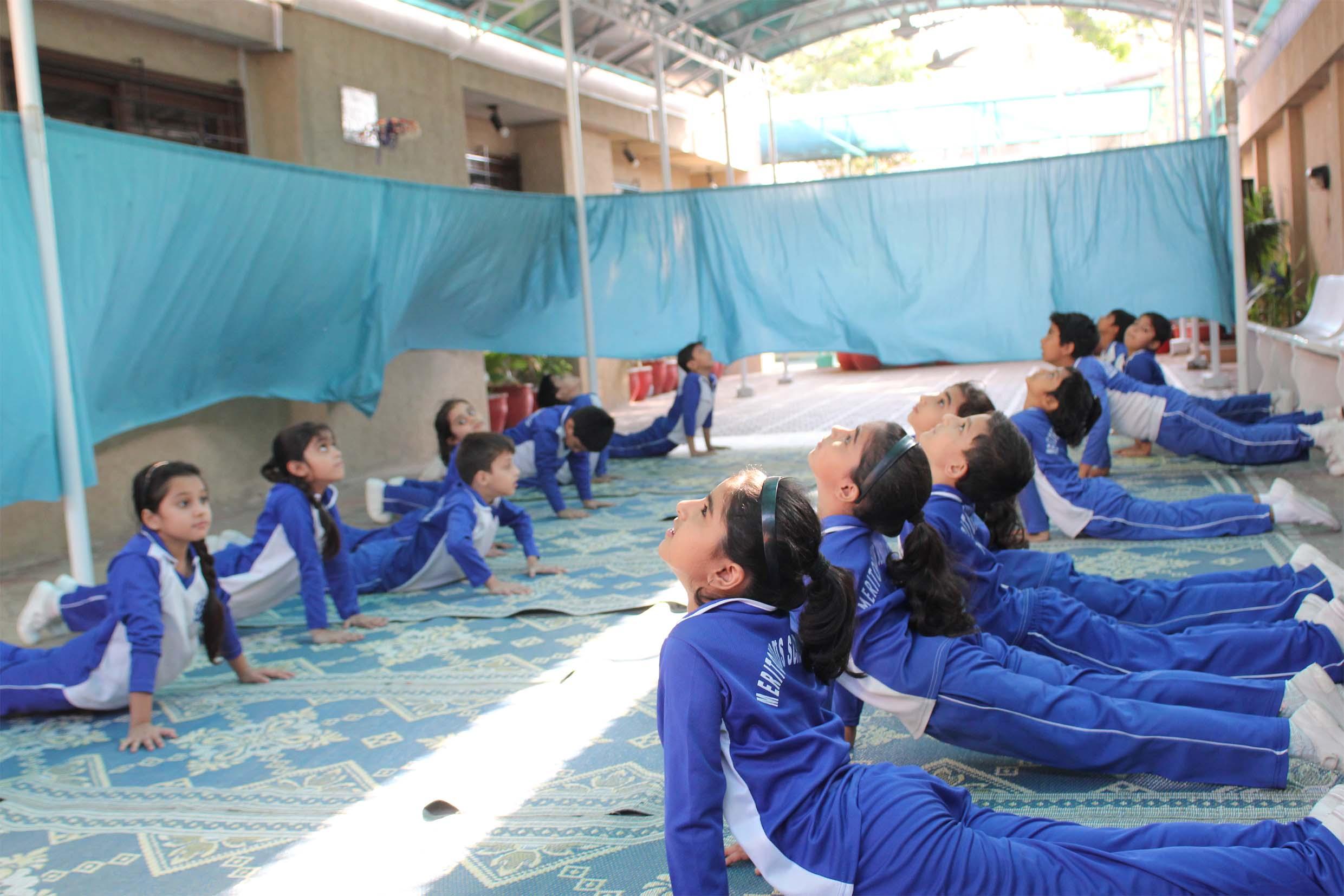 Yoga At Meritorious