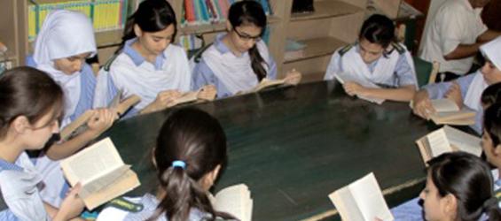 Meritorious High School (O Level, A Level), Library